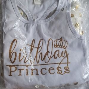 Toddler birthday outfit